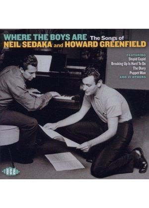 Various Artists - Where the Boys Are (The Songs of Neil Sedaka and Howard Greenfield) (Music CD)