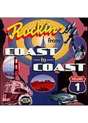 Various Artists - Rockin From Coast To Coast Vol. 1 (Music CD)