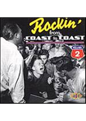 Various Artists - Rockin From Coast To Coat Vol. 2 (Music CD)
