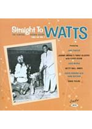 Various Artists - Straight To Watts - The Central Avenue Scene 1951 - 54 (Music CD)