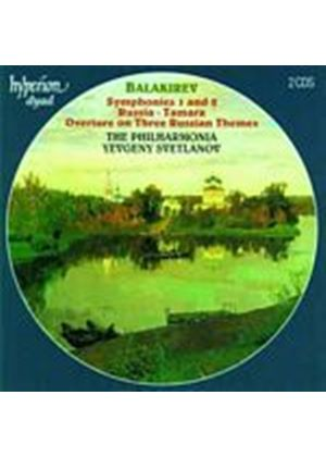 Phil Yevgeny Svetlanov - Balakirev/Orch Music/Sym No.1 And 2 (Music CD)
