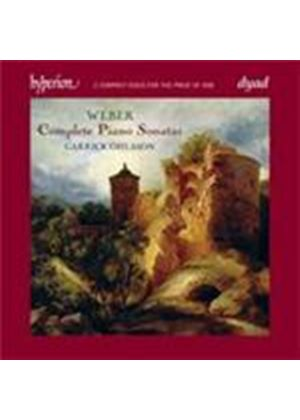 Weber: Complete Piano Sonatas (Music CD)