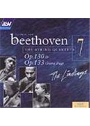 Ludwig Van Beethoven - String Quartets Op. 130 And 133 (The Lindsays) (Music CD)