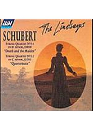 Franz Schubert - String Quartet No. 12, String Quartet No. 14 (The Lindsays) (Music CD)