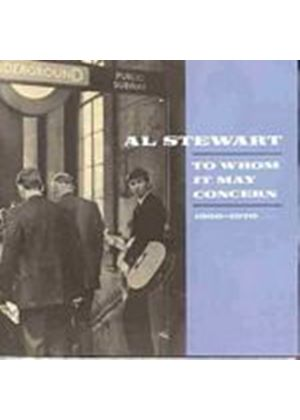 Al Stewart - To Whom It May Concern (Music CD)