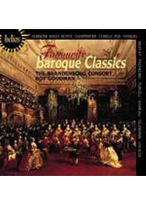 Various Composers - Favourite Baroque Classics (Music CD)