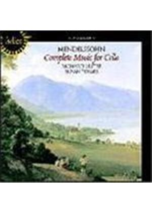 Mendelssohn: Music for Cello and Piano