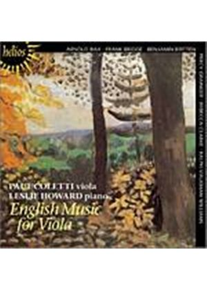 Various Composers - English Music For Viola (Coletti, Howard) (Music CD)