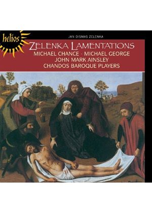 Jan Dismas Zelenka - The Lamentations Of Jeremiah (Baroque Players) (Music CD)