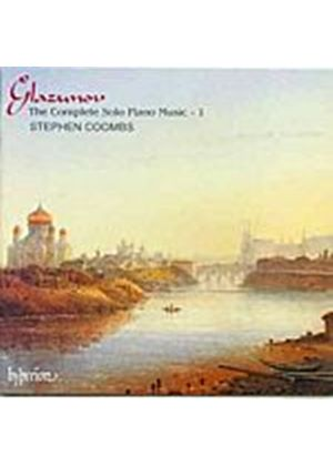 Alexander Glazunov - The Complete Solo Piano Music Vol. 1 (Coombs) (Music CD)