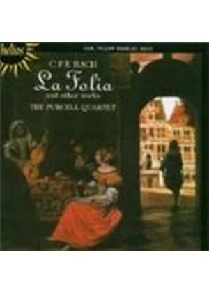 Bach, CPE: (La) Folia and other works