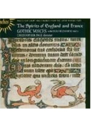 Various Composers - The Spirits Of England And France (Page, Gothic Voices) (Music CD)