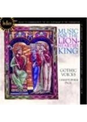 Various Composers - Music For The Lion-Hearted King (Page, Gothic Voices) (Music CD)
