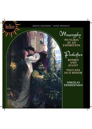 Musorgsky: Pictures at an Exhibition; Prokofiev: Romeo and Juliet; Toccata (Music CD)