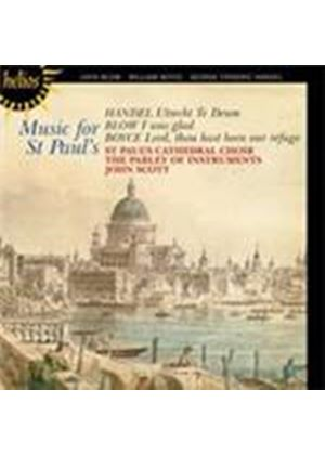 Blow; Boyce; Handel: Music for St Paul's (Music CD)