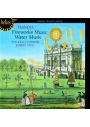 Handel: Royal Fireworks Music; Water Music (Music CD)