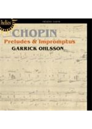 Chopin: Preludes & Impromptus (Music CD)