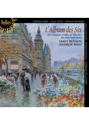Album des Six: The Complete Works for Flute and Piano (Music CD)
