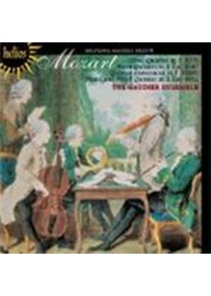 Mozart: Oboe Quartet; Horn Quintet; Piano and Wind Quintet (Music CD)