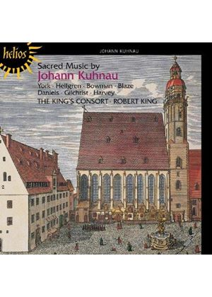 Sacred Music by Johann Kuhnau (Music CD)