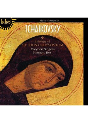 Tchaikovsky: Liturgy of St. John Chrystosom (Music CD)