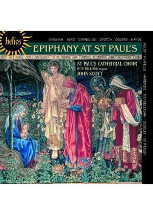 Huw Williams - Epiphany at St. Paul's (Music CD)
