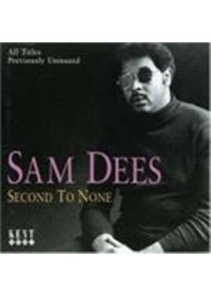 Sam Dees - 2nd To None (Music CD)