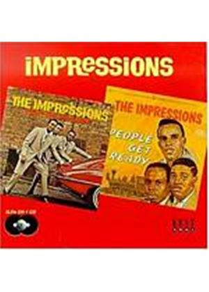 Impressions - Keep On Pushing/People Get Ready (Music CD)