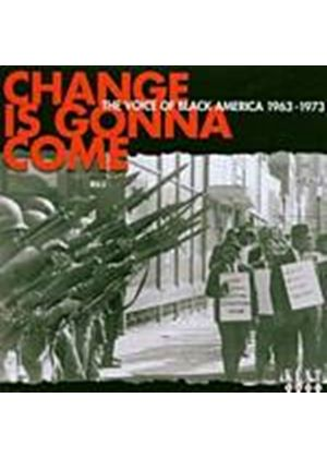 Various Artists - A Change Is Gonna Come - The Voice Of Black America 1964-73 (Music CD)