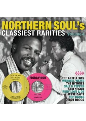 Various Artists - Northern Soul's Classiest Rarities Vol.4 (Music CD)