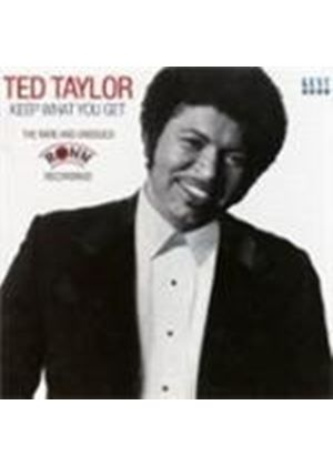Ted Taylor - Keep What You Get (Music CD)