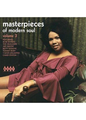 Various Artists - Masterpieces of Modern Soul, Vol. 3 (Music CD)