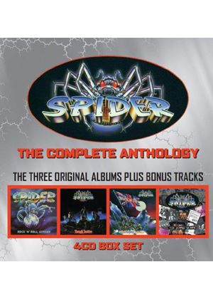 Spider - The Complete Anthology (Music CD)