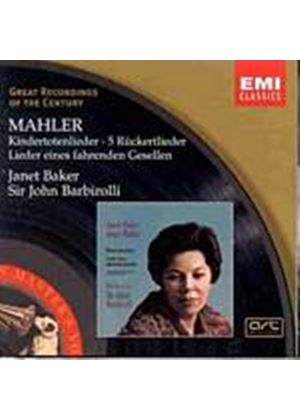 Baker/Barbirolli - Mahler/Kinderfotenlieder (Music CD)
