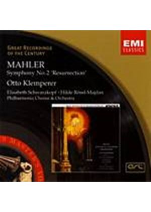 Gustav Mahler - Symphony No.2/Otto Klemperer (Music CD)