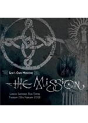 Mission (The) - God's Own Medicine (London Shepherd's Bush Empire Thursday 28th February 2008) (Music CD)