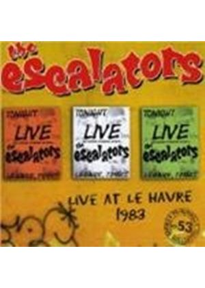 The Escalators - Live At Le Havre 1983 (Music CD)