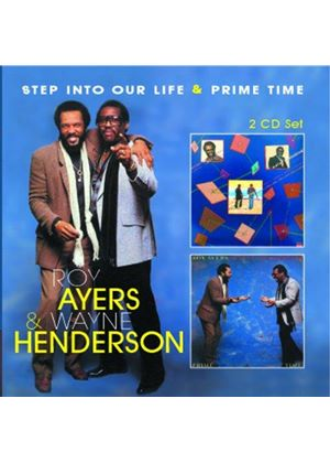 Roy Ayers - Step Into Our Life / Prime Time (Music CD)