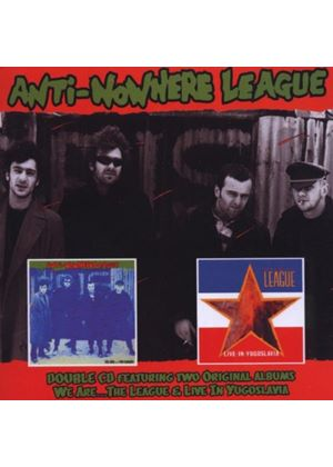 Anti-Nowhere League - We Are...The League/Live In Yugoslavia (Music CD)