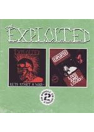 Exploited (The) - Let's Start A War/Live And Loud (Music CD)