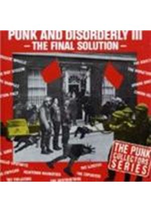 Various Artists - Punk And Disorderly Vol.3 (The Final Solution)