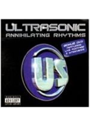 ULTRASONIC - Annihilating Rhythms (+DVD)
