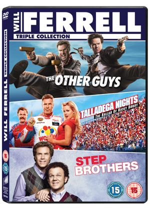 Will Ferrell Box Set: The Other Guys / Step Brothers / Talladega Nights Box Set