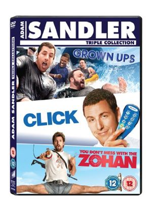 Click / Grown Ups / You Don't Mess With The Zohan Box Set