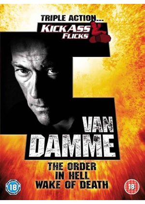Jean-claude Van Damme Collection - In Hell / The Order / Wake Of Death