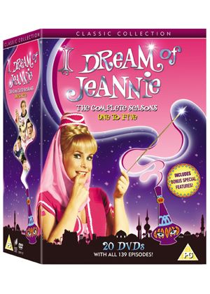 I Dream of Jeannie: Complete Seasons 1-5 (1970)