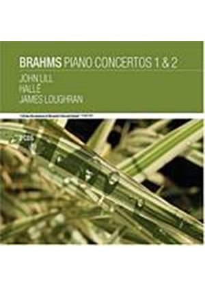 Johannes Brahms - Piano Concertos 1 And 2 (Lill, Halle, Loughran) (Music CD)