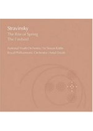 Igor Stravinsky - The Rite Of Spring, The Firebird (Dorati, NYO, RPO, Rattle) (Music CD)