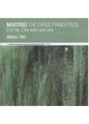 Martinu: The Three Piano Trios (Music CD)