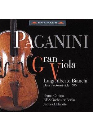 Luigi Alberti Bianchi plays the Amati Viola 1595